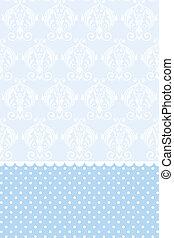Vector baby blue wallpaper