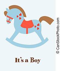 baby shower horse