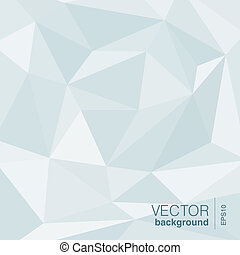 Vector Background abstract triangle shape.