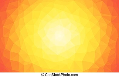 Vector background abstract, warm colors