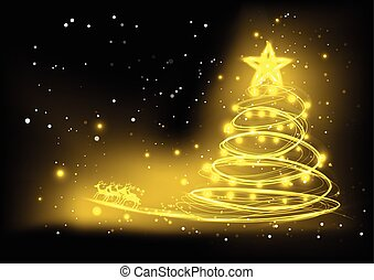 vector background Christmas design