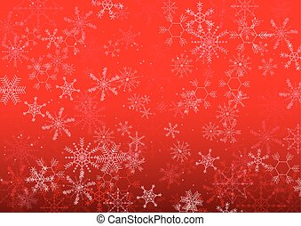 vector background Christmas snowflake design