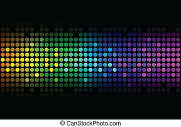 Vector background -  colorful light