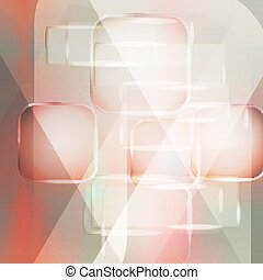 Vector background - Background texture with glowing frames...