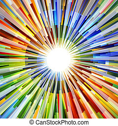Vector Background - illustration of abstract vector...
