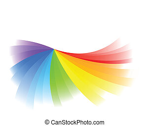 Vector background in bright color