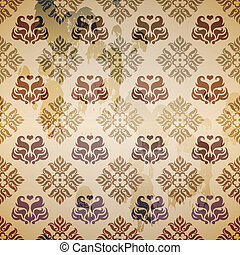 Vector background in vintage style