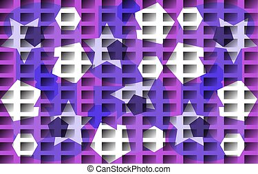 Vector background in white blue purple tones