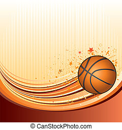 basketball - vector background of basketball sport
