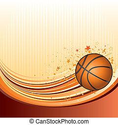 basketball - vector background of basketball sport