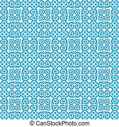 Vector background of blue polygons.