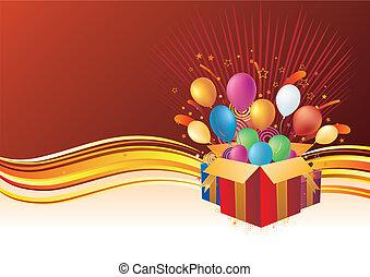 vector background of celebration