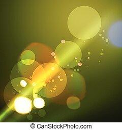 background of stylish bokeh lights