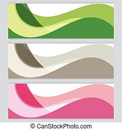 Vector Background tree frame Green, brown, pink