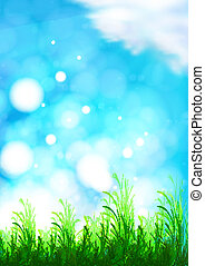 vector background with a blue sky,