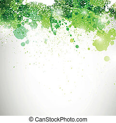 Vector Background with Blots - Vector Illustration of an ...