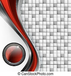 vector background with button