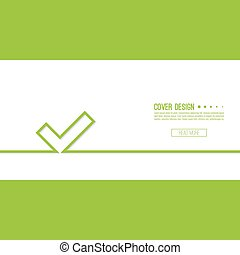 Vector background with check marks or ticks. checkbox. Web...