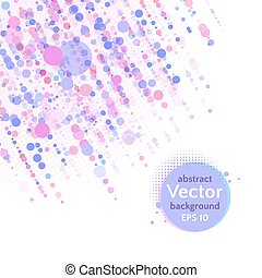 Vector background with dots