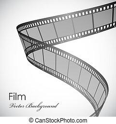 background with film strip