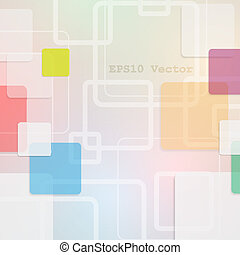 vector background with geometric elements