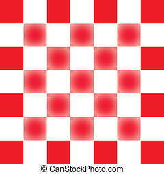 Vector background with square