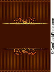 Vector background with vignettes.Abstract