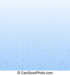 Vector backgrounds with water bubbles