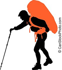 Vector Backpacker
