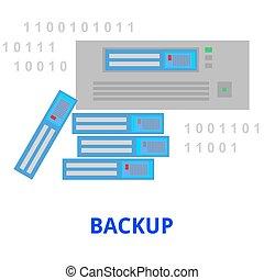 vector - backup
