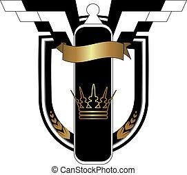 Vector badge