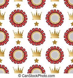 Vector badges shop product seamless pattern background sale best price stickers and buy commerce advertising tag symbol discount promotion illustration.