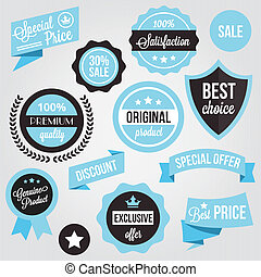 Vector Badges Stickers and Labels S