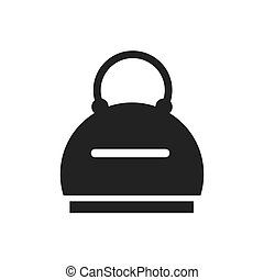 vector Bag icon woman design