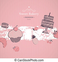 Vector Bakery Background