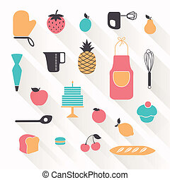 Vector Bakery Icons