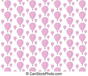 Baloons pattern - Vector Baloons pattern background