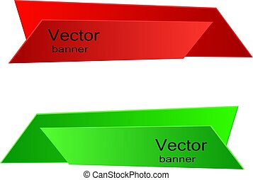 Vector banner for web design Illustration, eps 10