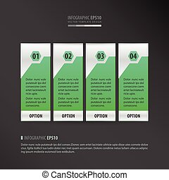 vector banner neon green