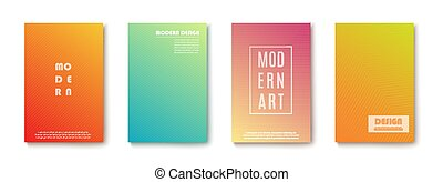 vector, banners., achtergrond., ontwerp, moderne, abstract, set, transparant