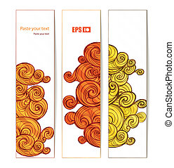 Vector banners. Ready for your text
