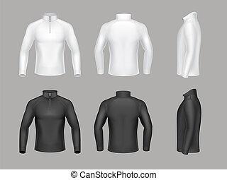 Vector base layer shirts for men