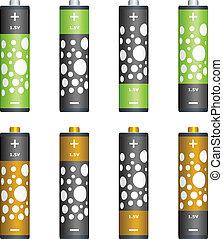 Vector batteries