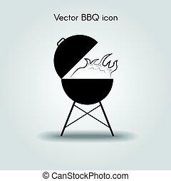 Vector bbq Icon