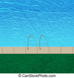 vector beach for your design