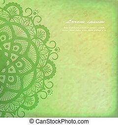 Vector Beautiful Deco Mandala