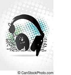 beautiful headphone design