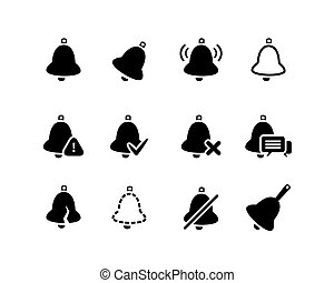 Vector Bell icons set