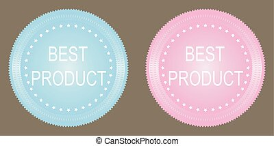 Vector best product button