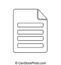 Vector, bestand, illustratie, pictogram